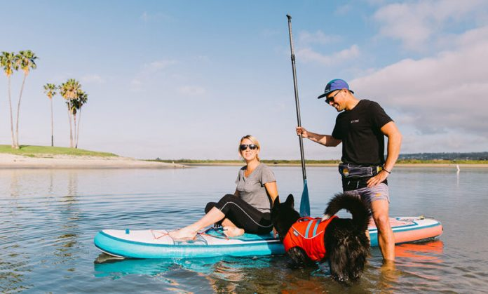 You need to decide heretofore where you intend to go for the sup experience.